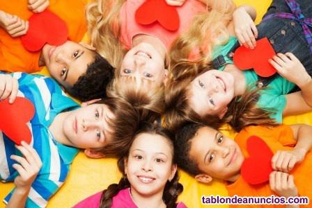 Taller de juegos cooperativos para niños y niñas
