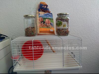 Vendo jaula en perfecto estado de hamster