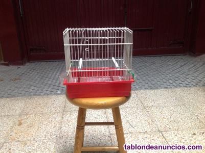 jaula para pequeños pájaros