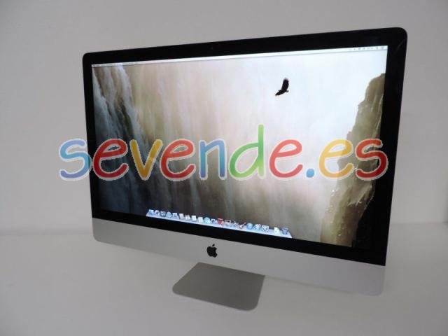 Apple iMac Alu 27 Core i7 16GB RAM 2TB HDD 25
