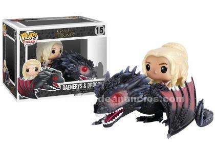 Daenerys & drogon funko pop (juego de tronos)