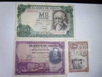 Estupendo billetes de coleccion