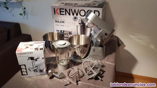 Kenwood titanium major - robot de cocina