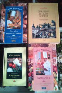 Libros de cocina de arguiñano y otros
