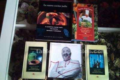 Libros de cocina judia, arguiñano y santi santimaria