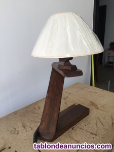 Lámparas de mesa hecha a mano
