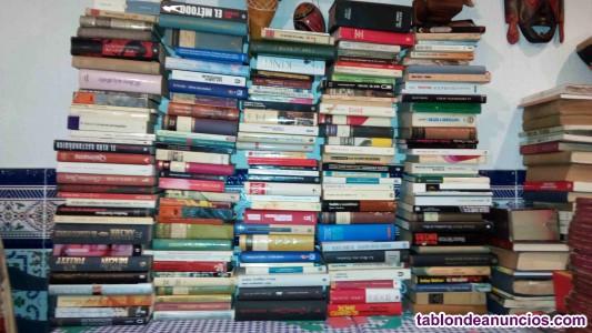 Lote de 180 libros de novelas y varios