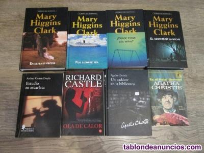 Lote de 8 novelas de intriga
