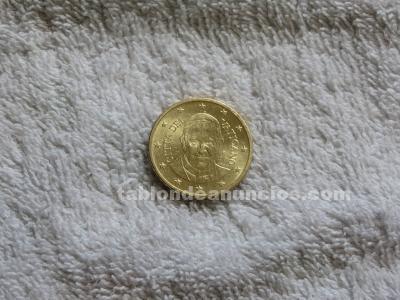 Moneda 50 céntimos vaticano