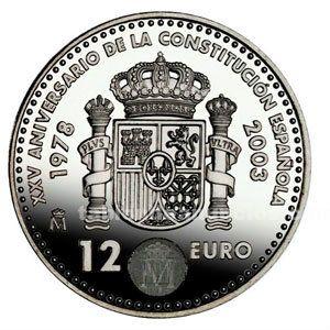 Moneda conmemorativa 12 euros
