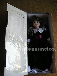 Muñeca de porcelana hecha a mano