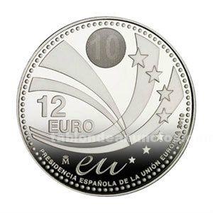 Ocasion moneda de 12 euros año