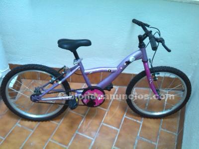 Vendo bicicleta para niña en perfecto estado