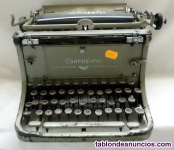 Antigua máquina de escribir continental (vintage)