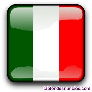 Clases particulares con italiano nativo