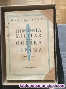 Historia militar de la guerra de españa