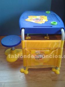 Mesa y taburete de imaginarium