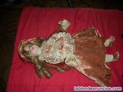 Muñeca de porcelana de 60 cm