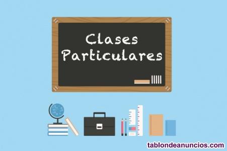 Profesor clases particulares primaria, e.s.o, bachillerato y