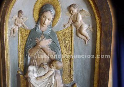 Retablo de la virgen de la divina providencia, j. Maria