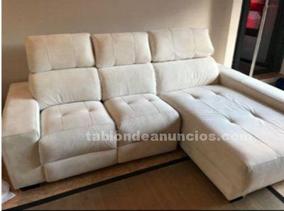 Sofa de 3 plazas con chaiselongue