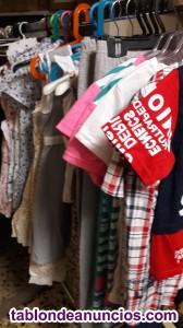 Vendo lote de ropa de niños, mujer y hombre totalmente
