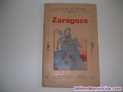 Vendo plano antiguo de zaragoza