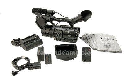 Videocamara profesional sony hvr-z1e
