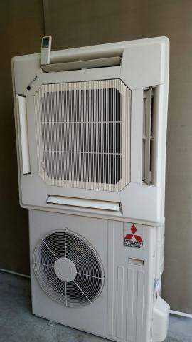 Aire acondicionado cassette Mitsubishi inverter  frig
