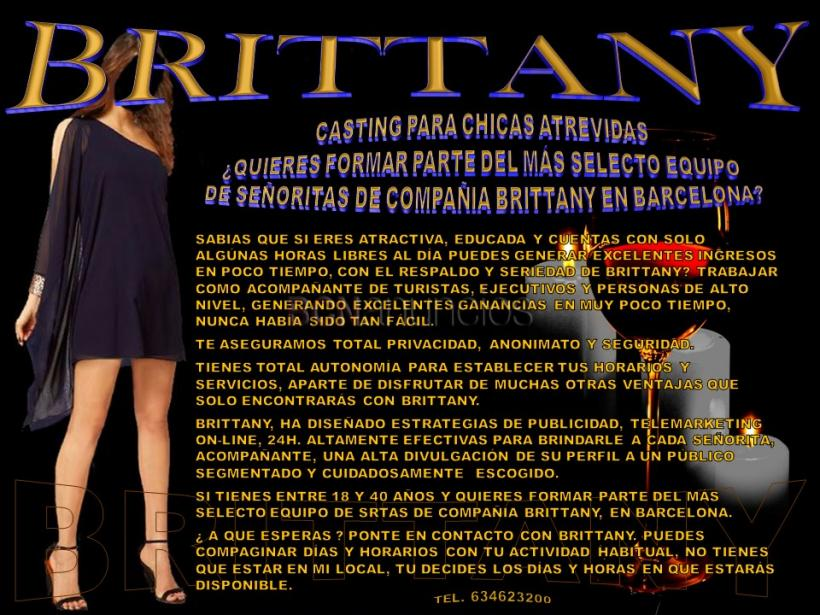 Brittany, para chicas atrevidas y exquisitas