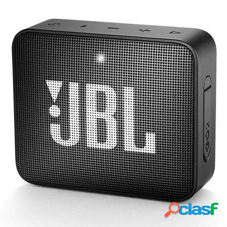 Altavoz bluetooth jbl go 2 black - 3w - bt4.1 - entrada