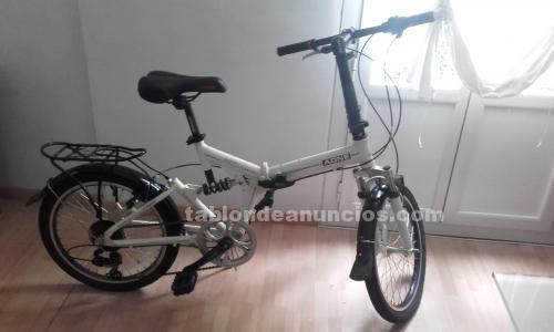 Bici plegable cambio shimano