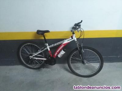 Bicicleta bh de mtb para niño 7-11 años