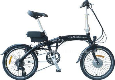 Bicicleta electrica plegable 8 velocidades 17 kgs