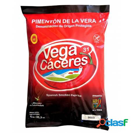 Bolsa pimentón dulce de la vera ahumado vega cáceres 1 kg