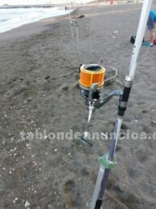 Caña duraflot power master y carrete shimano ci4 34sd