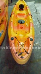 Kayak doble (2+1) version pesca o paseo - segunda mano