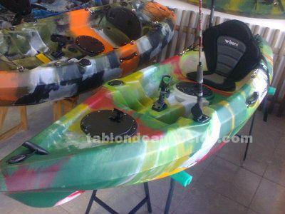 Kayak nuevo y equipado para pesca en 359€