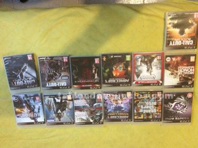 Lote juegos playstation3