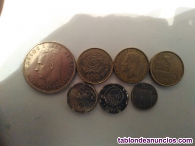 Monedas del rey juan carlos i
