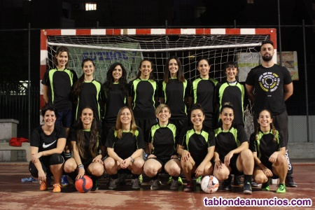 Nuevo equipo de futbol sala femenino. Zona centro madrid