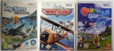 Pack 3 juegos originales para wii o wii u nuevos