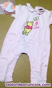 Pijama winnie the pooh y gorrito para sol