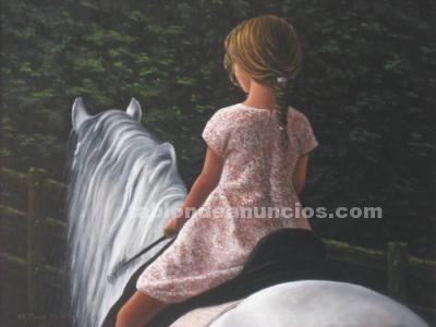 Se dan clases de equitación.