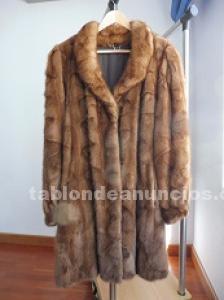 Se vende abrigo de visón