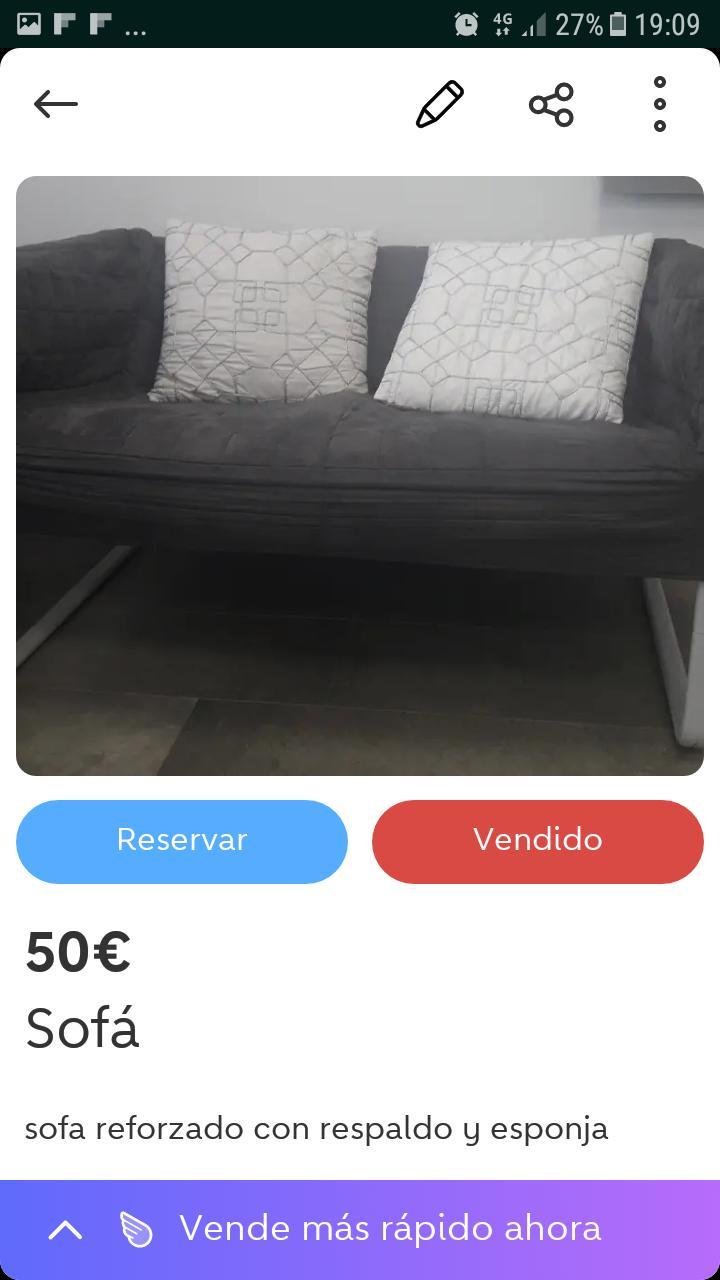 Se vende sofa