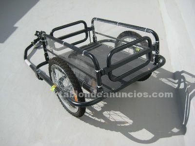 Vendo carrito de carga para bicicleta