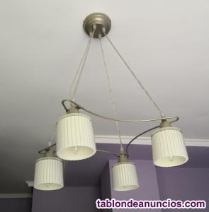 Vendo conjunto de 4 lamparas para dormitorio (en