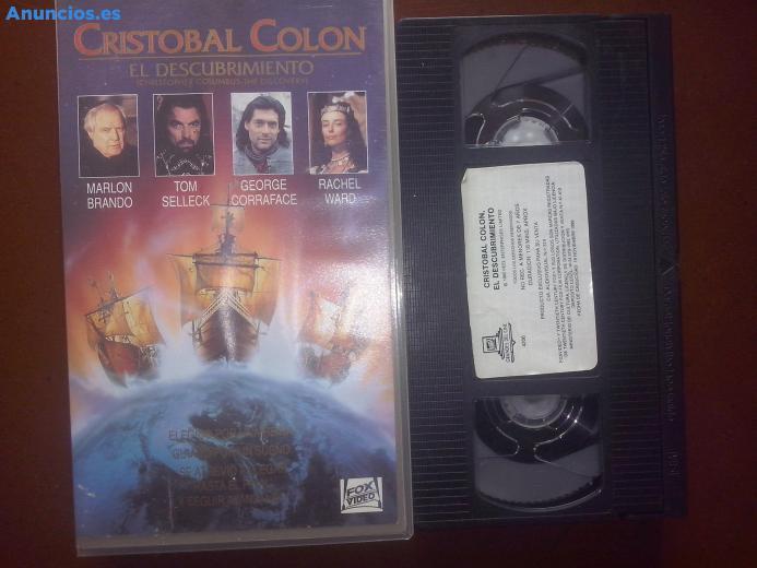 CristóBal ColóN El Descubrimiento, VHS