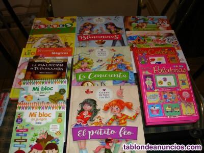 Vendo restos de libros infantiles